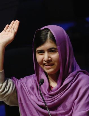 Malala (17) er p� skolen som normalt i dag