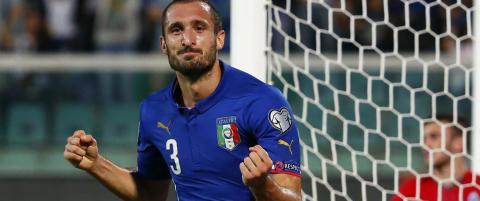 Chiellini scoret, lagde selvm�l og reddet Italia fra flause