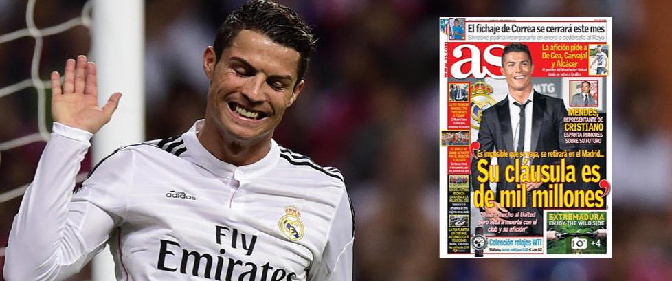 Cristiano Ronaldos svimlende prislapp? 8 250 000 000 kroner