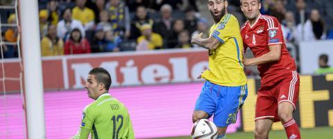Kjempetabbe og gavepakke hjalp Sverige til seier