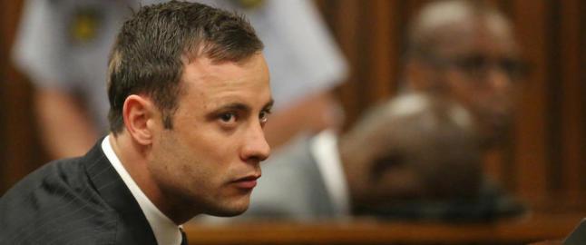 Pistorius f�r sin straff for drapet p� kj�resten