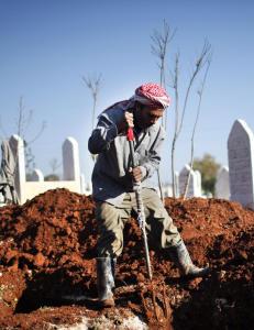 Teller Syrias d�de fra en toroms i London