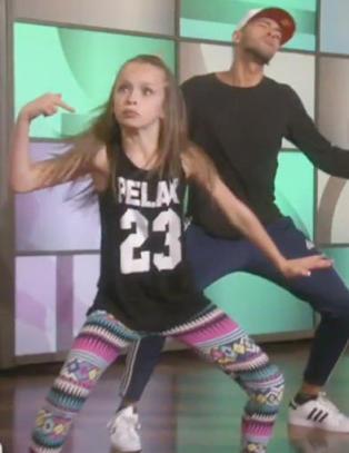 Taylor (11) er USAs nye dansesensasjon