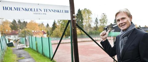 Bonanza for tennisklubb - h�per p� 100 mill. kroner
