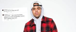 Chris Brown i hardt v�r etter ebola-tweet