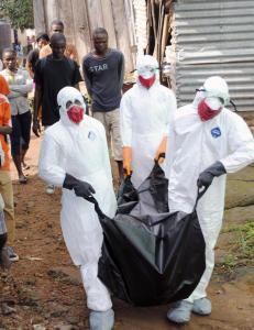- Ebola fikk et forsprang, og er n� langt foran oss