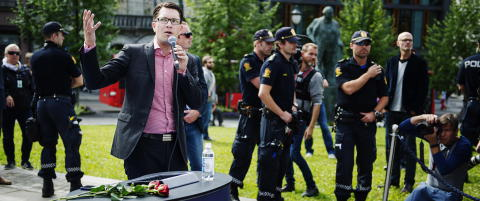 Sverigedemokraternas leder er sykemeldt