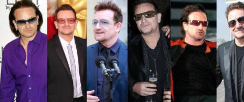Bono har gr�nn st�r
