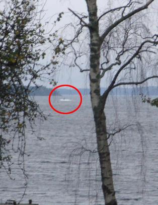 Bildet som skal vise �fremmed undervannsaktivitet� i Sverige
