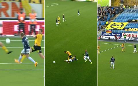 Spiller som en stjerne: Se Martin �degaard score to m�l og drible som Ronaldo