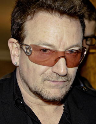 �Stakkars gamle, blinde Bono�