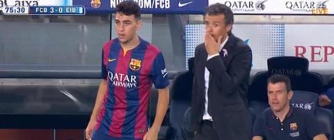 Enrique ville bytte ut Messi - det var uaktuelt for stjernen