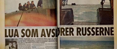 Dette skjedde egentlig da de fisket en russisk ub�t