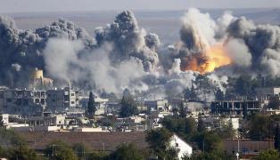 S� tungvint som mulig f�r kurderne hjelp i Kobani