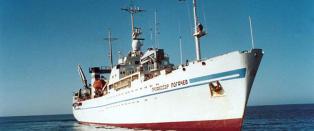 - Vi har ikke operert det skipet p� fem �r. Det har gjort mange oppdrag for russiske myndigheter