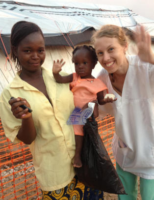Silje (30) fikk ebola i Vest-Afrika: - Jeg h�per � snart kunne reise tilbake