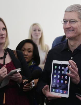 Apples knallresultat bedre enn forventet
