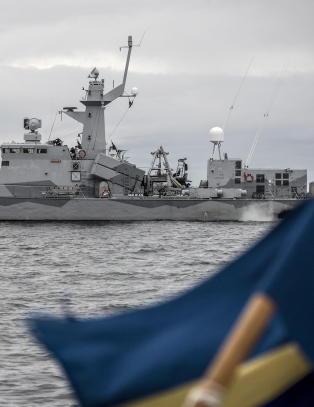 N� er det for f�rste gang knapt flertall for NATO-medlemskap i Sverige