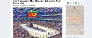 Svenskene latterliggj�res i russiske medier