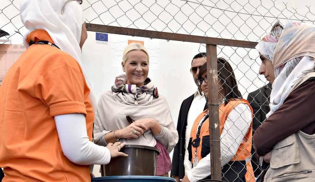 Norge dobler hjelpen til Jordan