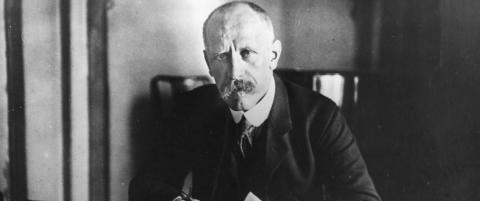 Nansen flyktet ogs� fra �verdenslarmen�