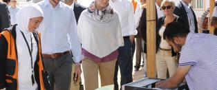 Norge dobler hjelpen til Jordan fra 50 til 100 millioner