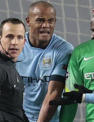 City-spillerne raste etter straffespark og kollaps