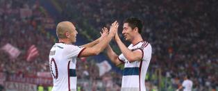 Bayern ydmyket Roma med elleville sifre. 1-7 p� Olympiastadion