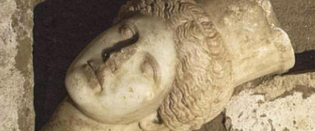 Fant historisk sfinx-hode i Hellas