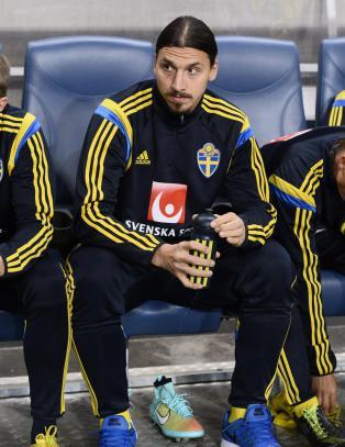 Vil ikke si hva som plager Zlatan
