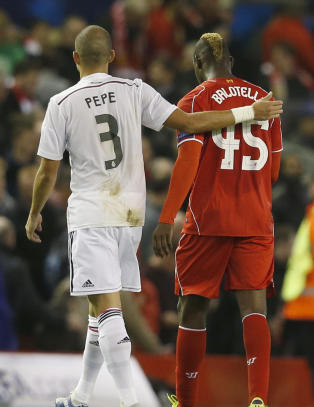 Balotelli-gesten som oppr�rer Liverpools manager