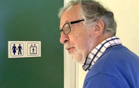 I 42 �r har NRK-veteranen Bruaset hatt kontor...her