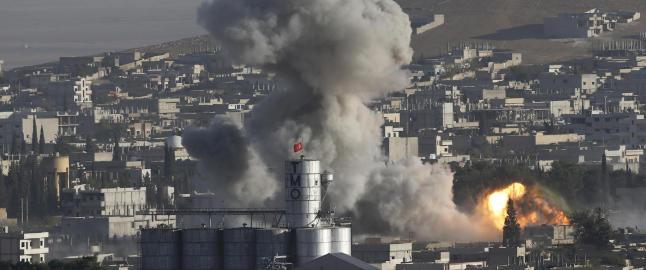 Eksilgruppe: - 32 sivile drept i USA-ledet bombing i Syria