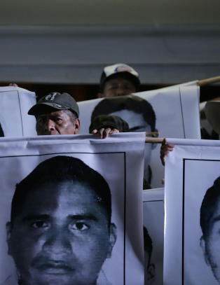 Ordf�rerpar mistenkt for studentforsvinninger i Mexico