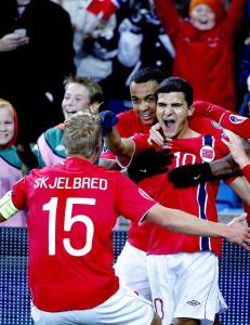 Norge hoppet �tte plasser p� Fifa-rankingen