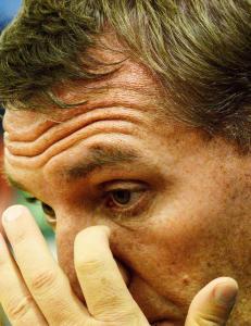 Balotelli-sp�rsm�l fikk Rodgers til � sprekke