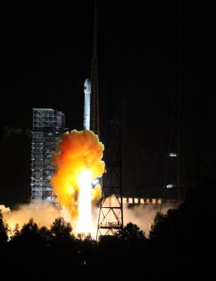 Kina sendte romfart�y til m�nen