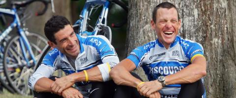 Armstrong f�r ikke sykle dopingkompisens ritt