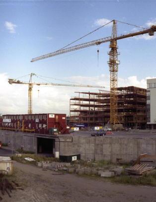 Kraftig fall i byggetillatelser