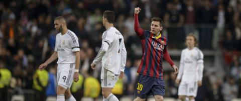 Messi f�r ingen hyllest under El Cl�sico