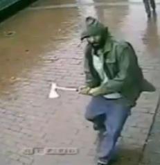 Angrep politimenn med �ks i New York: Utelukker ikke terror