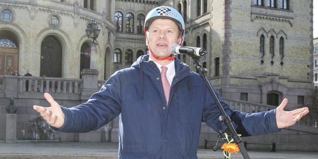 Skattelette og medvind p� alle sykkelstier n�!