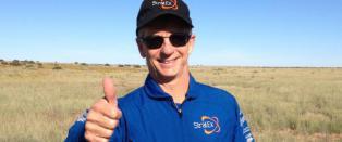 Google-leder slo fallskjerm-rekord