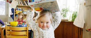Vi gr�t av lykke, helt til barnepleieren hentet oss