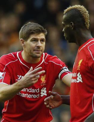 Gerrards instruksjoner til Balotelli hjalp litt for tamt Liverpool