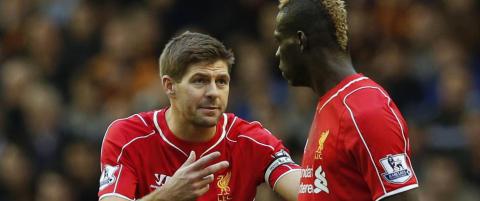 Gerrards instruksjoner til Balotelli hjalp lite for tamt Liverpool