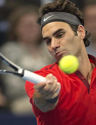 33 serveess var ikke nok mot Federer