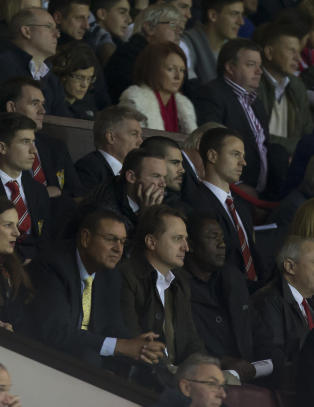Valdes  aktuell som keeper i Manchester United