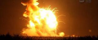 Skulle til romstasjonen: Eksploderte like etter �lift off�