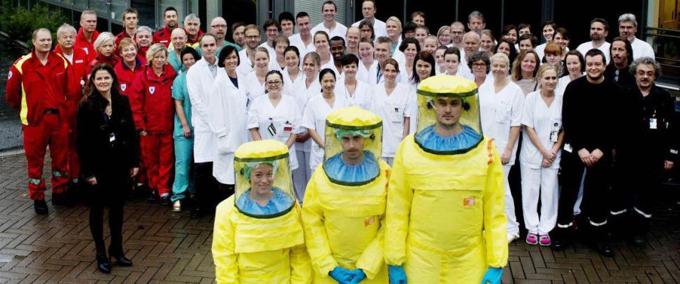 130 mennesker kjempet for � redde Silje Lehne Michalsen (30) fra ebola-d�den